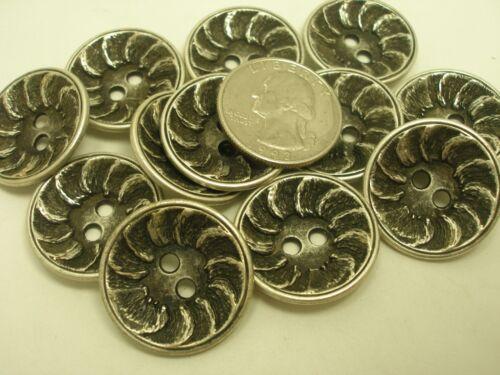 New Lots Silver Metal Buttons w// Pattern 1 inch,11//16 5//8 Blazer jacket  #SF