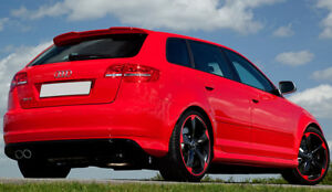audi a3 8p sportback rs3 look spoiler 2005 2012 ebay. Black Bedroom Furniture Sets. Home Design Ideas