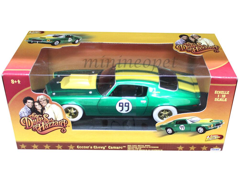 Dukes of hazzard general lee cooter ist 1970 camaro 1   18. chase auto, weiße räder