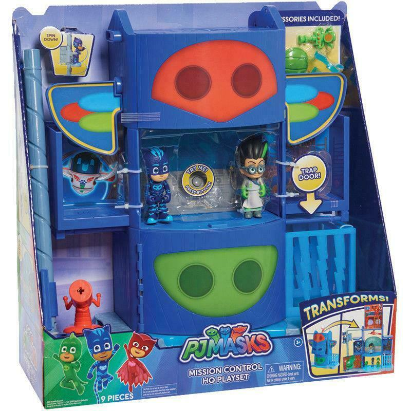 PJ Masks Mission Control HQ Playset toy