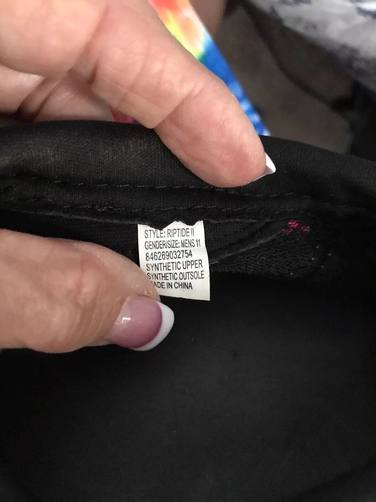 e826a0f868813b Body Glove Mens Riptide 2 2 2 Water Shoes Black Size 11 SC8 a4fc71 ...