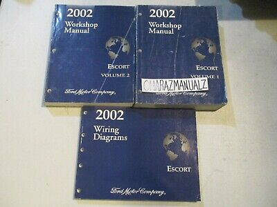 2002 FORD Escort Wiring Diagrams & Service Manuals Manual ...