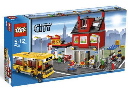 Lego city ville quart avec bus (7641)