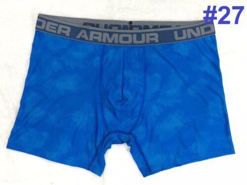 """NEW Under Armour Boxerjock Boxer Briefs 6/"""" Underwear Men/'s Printed L XL 2XL"""