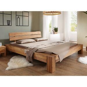 balkenbett bett massivholzbett wildeiche massiv ge lt. Black Bedroom Furniture Sets. Home Design Ideas