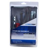 Blue Max Chainsaw Chain Sharpening Kit File Tool Set Guide Bar File Sharpener