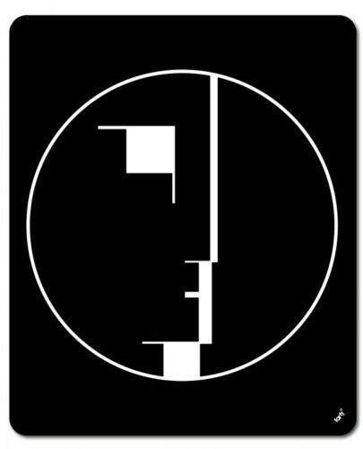 23x19cm Staatliches Bauhaus Logo Mauspad Mousepad #116932 Oskar Schlemmer