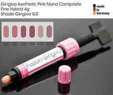 Gingiva VITA G2 Gum Shade Aesthetic Pink Nano Light Cure Dental Composite 4g