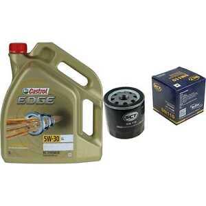 Inspection-Kit-Filter-Castrol-5L-Oil-5W30-for-Saab-9-5-YS3E-2-0-T-2-3-2-0i