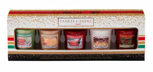 Yankee-Candle-5-Votive-Sampler-Christmas-Gift-Set-Holiday-Party-2016