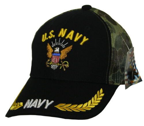 US NAVY MESH BASEBALL CAP BRAND NEW SNAPBACK