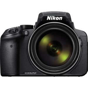Nikon COOLPIX P900 Digital Camera with 83x Optical Zoom and Built-In Wi-Fi Black 18208264995