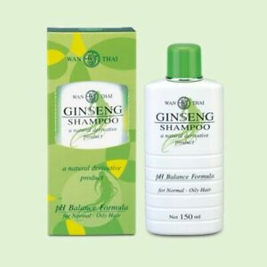 Wanthai Ginseng Shampoo Natural Herbal Prevent Hair Loss For Normal - Oily Hair