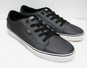 b401f5473d VANS Bishop (Herringbone) Charcoal  Black VN-0NLUL9B Men s size  12 ...