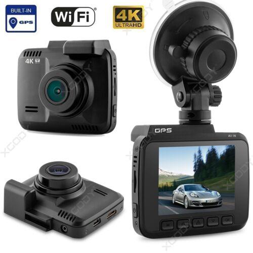 "WiFi 4K 2.4/"" LCD HD 1080P Car DVR Video Recorder Dash Cam Camera GPS G-sensor"