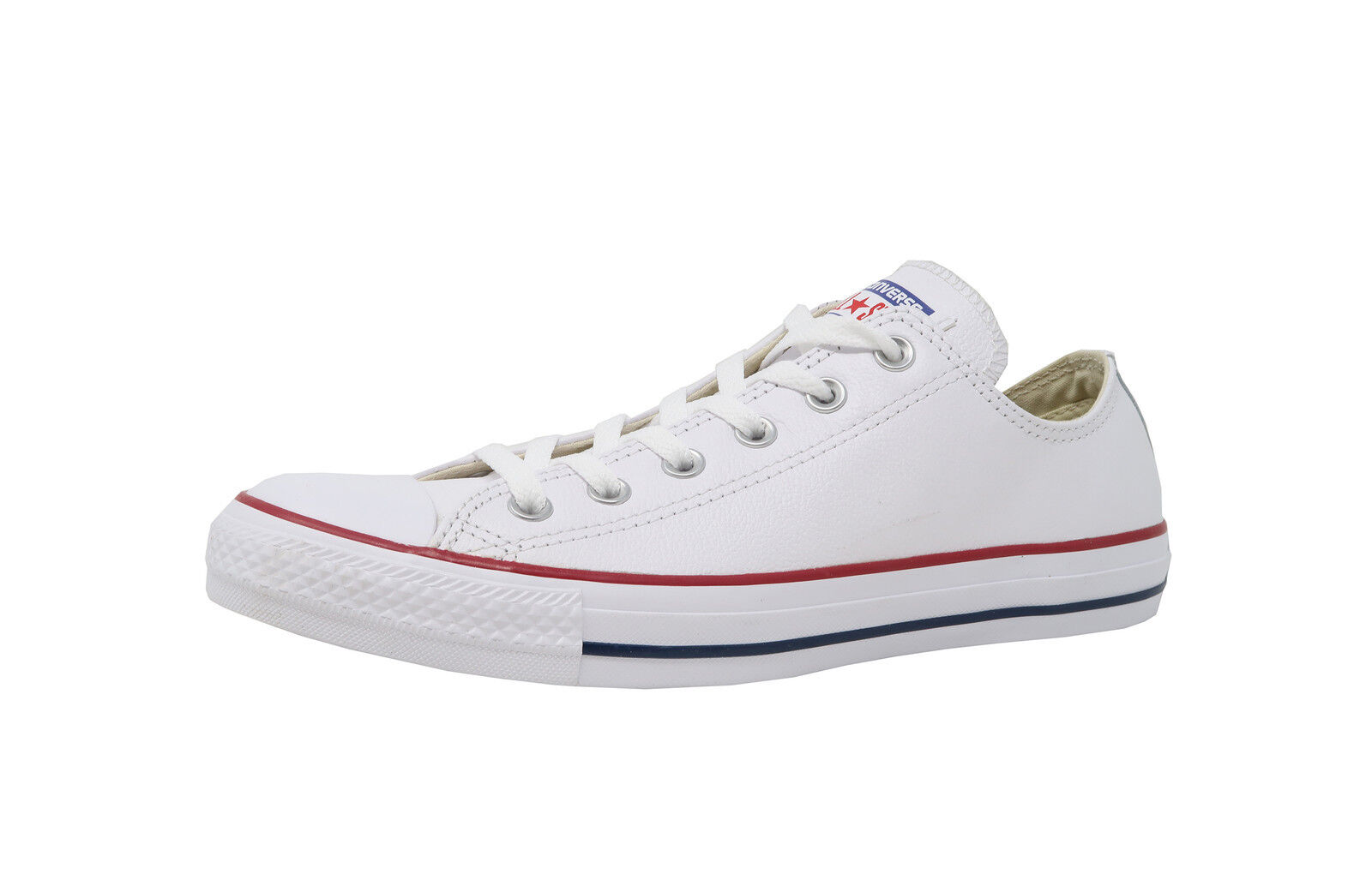 84b8598afd58ea Converse Chuck Taylor All Star Leather Ox White Low Top SNEAKERS ...