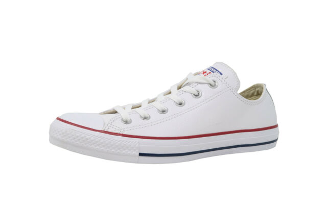 f4408480b987 Converse Shoes Chuck Taylor All Star Men Women Leather Low Top White  Sneaker for sale online