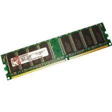 1GB Kingston DDR1 RAM PC3200 400MHz CL3 184 pin DDR-400 Memory KVR400X64C3A/1G