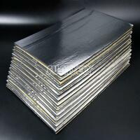 12sheets 5mm Glass Fibre Soundproofing & Heat Insulation Sheet Closed Cell Foam