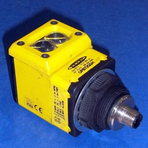 BANNER 10-30VDC PHOTOELECTRIC SENSOR OPBT2QDH W// OPERATING HEAD OSBLV