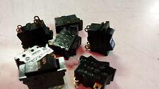 WIPPSCHALTER 3 STUFEN schwarz/schmal 8 STÜCK für diverse Elektrogeräte      1550