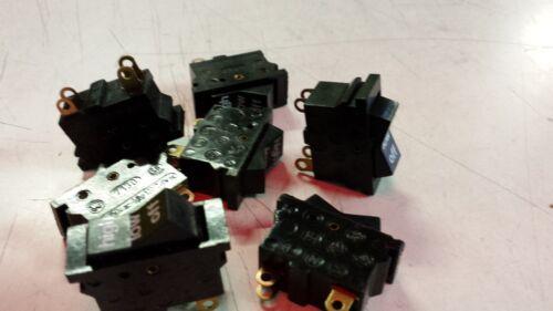 Interruptor 3 escalones negro//estrecho 8 unidades para varias aparatos eléctricos 1550