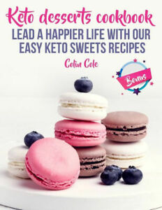 Keto-Friendly Dessert Recipes Keto Sweets Size Centimeters