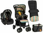 Hauck Disney Pooh Tidy Time SHOPPER Shop N Drive Travel System Pushchair Carseat