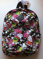 Hello Kitty Backpack 40th Anniversary Bookbag Keroppi Badtz-maru My Melody