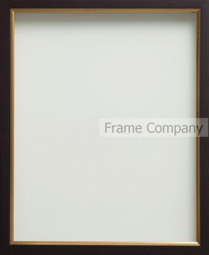 Vendu en paquets de 4 frame company noyer noir ou blanc or photo cadre photo