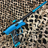 D3fy Sports D3s Electronic Paintball Gun W/ Tadao Board - Teal/black