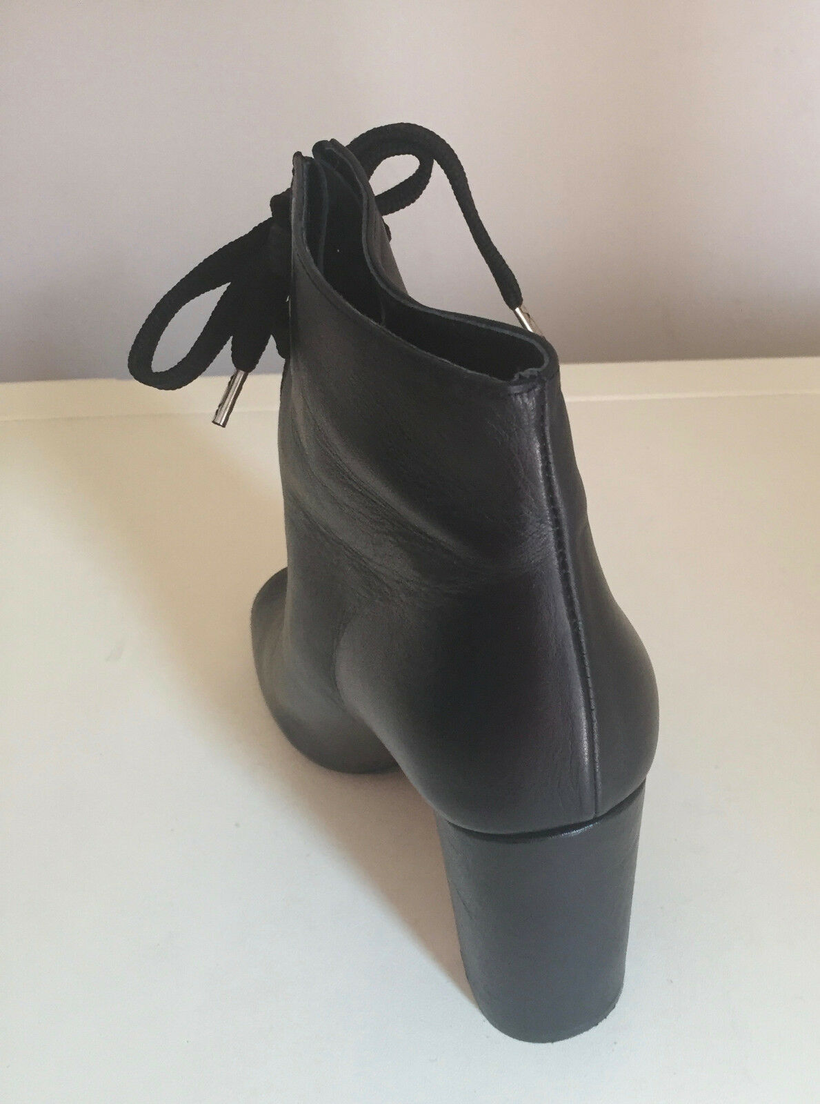 WOMEN TOPSHOP LEATHER  ANKLE BOOTS TOPSHOP WOMEN  SIZE UK 6 46dbf2