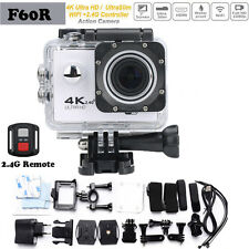 4K WiFi Waterproof Camera 1080P go Action pro 2.0 LCD F60R Outdoor Sport Cam