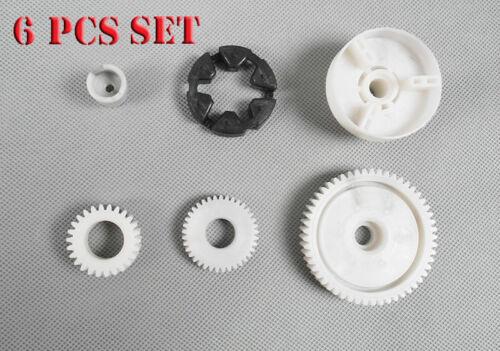 Power Window Motor Gear Regulator For Mazda 5 6 CX-7 CX-9 RX-8 Set 6pcs RK1010