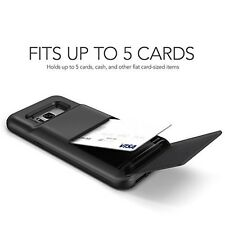 Samsung s8+ New Case Wallet Cover 5 Card Slot Galaxy Plus Premium Quality TPU