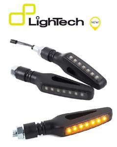 LIGHTECH-COPPIA-INDICATORI-FRECCE-LED-FRE924NER-UNIVERSALI-OMOLOGATE-MOTO