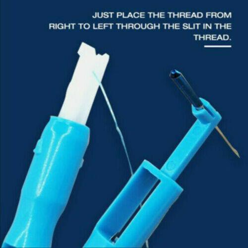 Hot Sewing Machine Insertion Needle Threader Applicator Handle Thread Tool