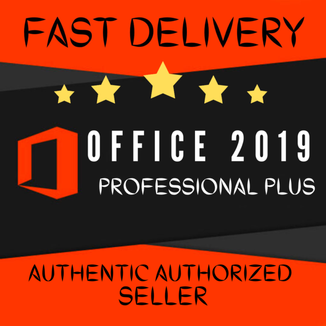 Microsoft Office 2019 Pro Plus Lifetime License Key for ...