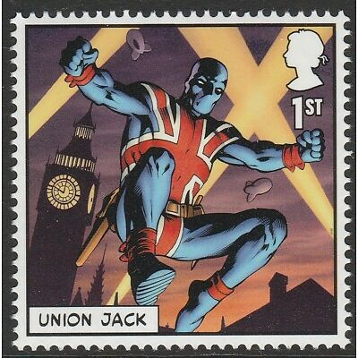 UK MARVEL Union Jack single (1 stamp) MNH 2019 after March 31