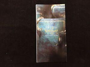 WDCC Walt Disney Classics Collection - Blue Brochure Book