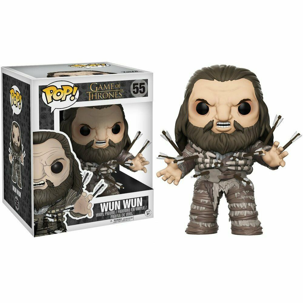 Funko Pop Game of Thrones Wun Wun 6 inches Vinyl Figure