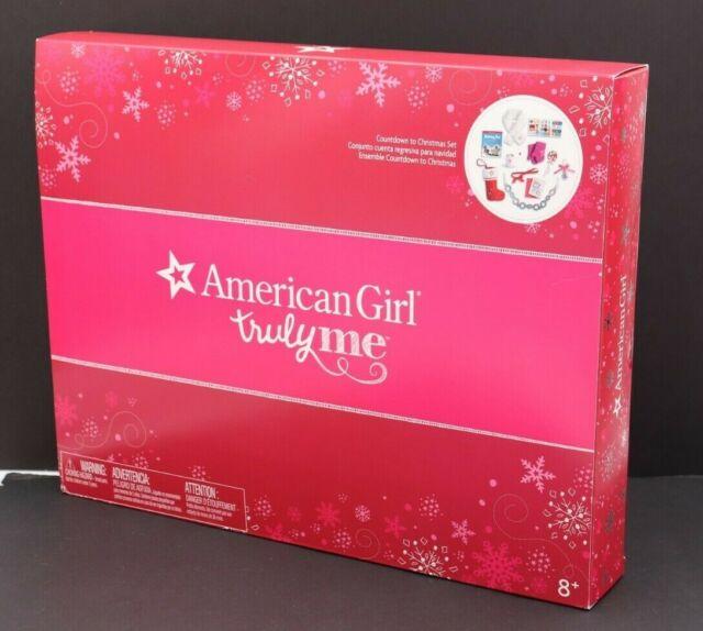 AMERICAN GIRL  DOLL 2018 COUNTDOWN TO CHRISTMAS ADVENT CALENDAR NIB FREE SHIP