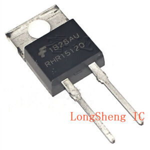 10-PCS-RHRP15120-RHR15120-15A-1200V-Hyperfast-Diode-Original-FSC-TO-220-New