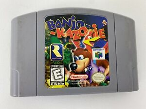 Banjo-Kazooie-Nintendo-64-N64-Video-Game-Cartridge-Only-OEM-Authentic-Tested
