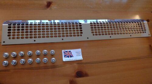 ARIA condizionata Grille Inserisci GRUPPO Mesh SPECCHIO inox Land Rover Defender PUMA TDCI