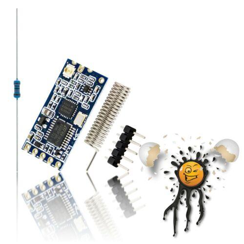 HC-12 433-473 MHz multi 100 Channel RF UART Modul Wifi RF Bridge 20dBm Arduino