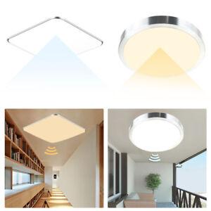 deckenlampe led sensor sensorlampe leuchte flurlampe mit bewegungsmelder radar ebay. Black Bedroom Furniture Sets. Home Design Ideas