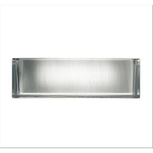Flos-F4650060-Ontherocks-1-Fl-1X18W-2G11-Stehen-Glas-Trasp-stampato-Silber