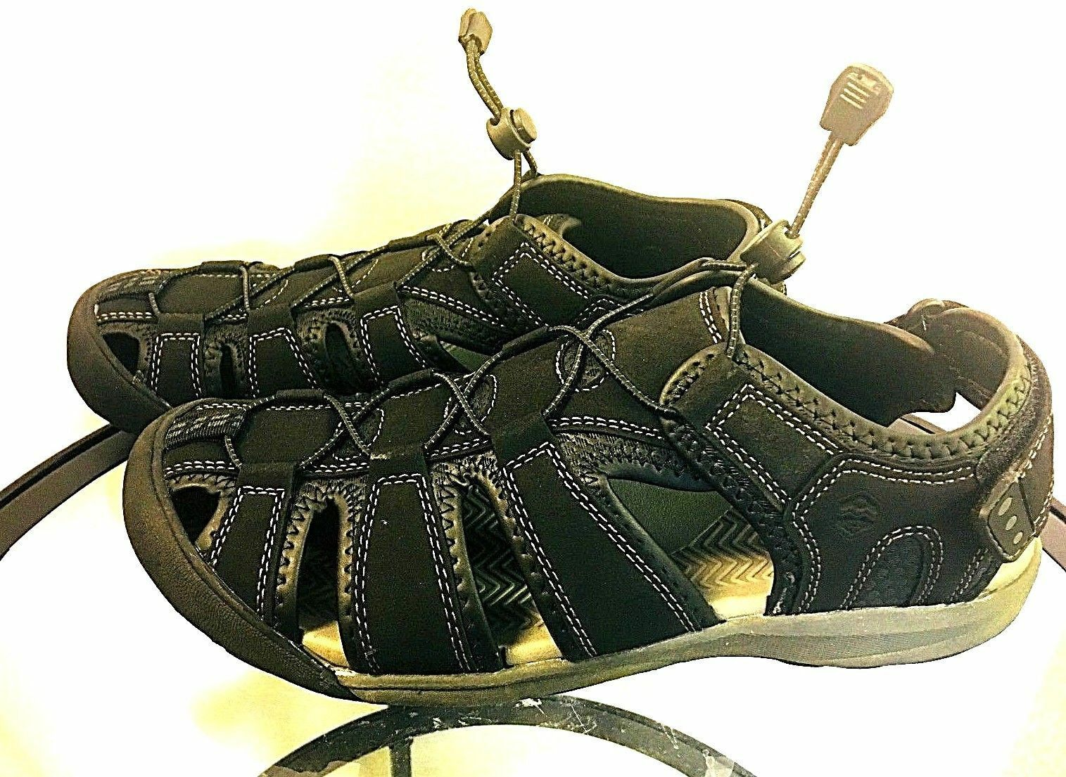 Khombu Men's TRAVIS Active Sandals - - PICK SIZE - BLACK - - 8G_41 dbe2c1