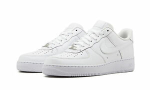 afb3f182eae Nike Air Force 1 Low Men s Shoes White White Leather 315122-111